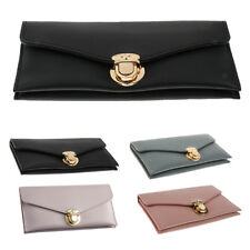Womens Lady Leather Wallet Purse Long Handbag Clutch Money Bag Phone Card Holder