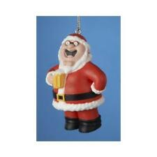FAMILY GUY PETER GRIFFIN santa with beer CHRISTMAS ORNAMENT NEW