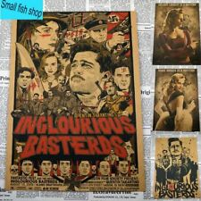 Inglourious Basterds Quentin Tarantino Classic movies Home Furnishing decoration