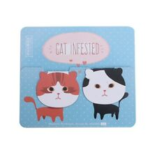 Magnetic Multi Function Bookmark Paper Pencil Clip Cat Bear FoodPage Mark