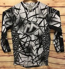 Motocross Racing Jersey Marshall Solo II MX Shirt Black White Shift BMX ATV NEW