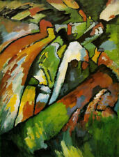 ClassicRussian Abstract Art Print: Improvisation VII by Wassily Kandinsky, 1910