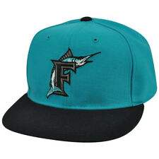 MLB New Era 59Fifty5950 Florida Miami Marlins Diamond Vintage Fitted Hat Cap
