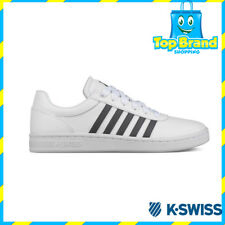 K-Swiss Mens Casual Court Cheswick White Low Sneakers 05609106 Cheap Sneakers