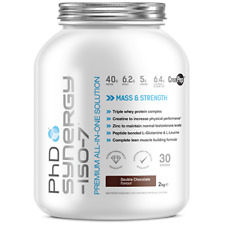 PhD Nutrition Synergy Iso-7 2kg Premium All in One Formula