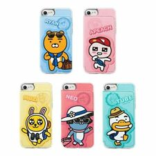KAKAO FRIENDS Travel Color Pocket Diary Phone Case Cover For Apple iPhone X