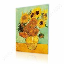READY TO HANG CANVAS Sunflowers Tournesols Vincent Van Gogh Oil Painting Print