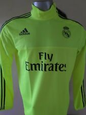 REAL MADRID TRAINING TOP ADIDAS WITH SPONSORS S88965 LARGE 100% ORIGINAL
