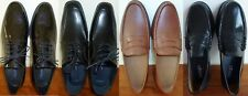 Men's Leather Dress Shoes Oxford Loafers Cole Haan Florsheim Joseph Abboud