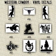 COWBOY vinyl decals | country western | country boy | car decals | car stickers
