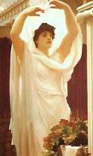 Invocation by Frederick, Lord Leighton (Classic Greco-Roman Religious Art Print)