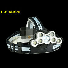 100000LM USB Rechargeable Zoomable T6 LED Headlamp Head Light 18650 Headlight