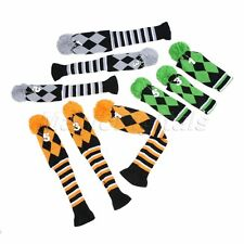 3Pcs/Set Knited Headcover Golf Club Putter Head Covers for Cobra PXG Taylormade