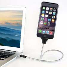 360° Flexible Brace Stand USB-C / Micro USB Data Cable Charger Holder Dock Stand