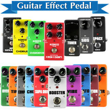 KOKKO 16 kinds of Guitar Effects Pedal Portable Guitar Parts & Accessories KK