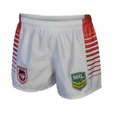St George Illawarra Dragons NRL Kids Supporter Shorts BNWT Rugby League