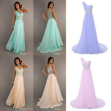 Mint Peach Beaded Party Prom Evening Pageant Formal Cocktail Dress/Ball Gown