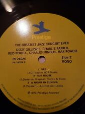 the greatest jazz concert ever 1973  prestige issue double vinyl lp  near mint-