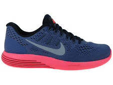 NEW WOMENS NIKE LUNARGLIDE 8 RUNNING SHOES TRAINERS BLUE MOON / LIGHT ARMORY BLU