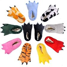 Cartoon Animal Cospaly Paw Claws Shoes Halloween Costume Monster Plush Slippers
