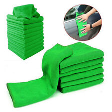 5/10Pcs Soft Auto Car Microfiber Wash Cloth Cleaning Towels Hair Drying DusterJB