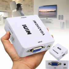 VGA to HDMI Full HD Video 1080P Converter Box Adapter for PC Laptop DVD HDTV
