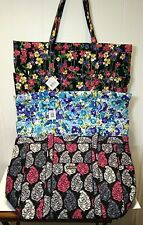 NWT Vera Bradley GET CARRIED AWAY Large Travel Tote CHOICE OF RARE PATTERNS