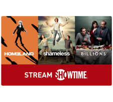 SHOWTIME® Gift Card - $25 $50 $100 - Email delivery