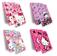 Flip Hellokitty Smart Leather Stand case Cover Defender Apple iPad Air / 2 3 4