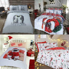 NEW Luxury CHRISTMAS RANGE Duvet / Quilt Cover & Pillowcases Bedding Sets