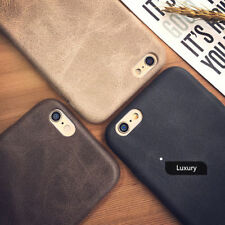 Luxury Ultra-thin PU Leather Skin Back Case Cover For Apple iPhone 8 7 6 6S Plus