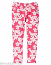 NWT GYMBOREE Pretty Poppy Floral PONTE PANTS 3T,5,6,7,8 Girls Pull on Jeggings