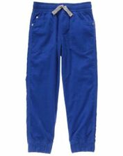 NWT Gymboree Boys Pull on Pants Blue Corduroy Jersey Lined Jogger many sizes
