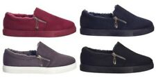 Womens Slip On Flats Trainers Classic Plimsoll Pumps Sneakers Loafer Shoes UK3-8