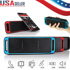 Wireless Bluetooth Loud Speaker USB Flash Super Bass MP3 Player FM Radio Stereo