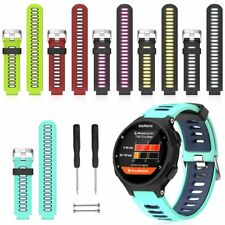 Silicone Replacement Strap Watch Band F Garmin Forerunner 230 235 620 630 735XT