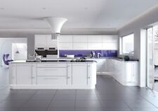 Kitchen Units Cabinets in Modern Design Gloss White