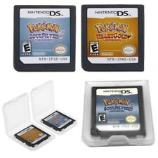 Pokemon Game Card SoulSilver HeartGold For Nintendo 3DS NDSI NDSL NDS Lite New