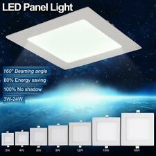 6-24W Dimmable LED Recessed Ceiling Panel Down Lights Bulb Lamp F Indoor Home WX