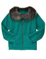 NWT Gymboree Girls Jacket Snowflake Fun Green Fleece 5/6,7/8,10/12