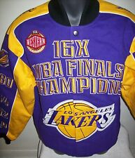 LOS ANGELES LAKERS Championship Gear 16 Time NBA Championship Twill Jacket MED