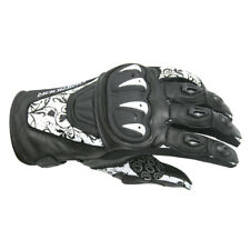 DRIRIDER STEALTH SUMMER Ladies White Black Gloves