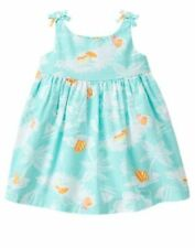 NWT Gymboree Seashore Smiles Seashore dress 0 3 6 12 18 24 M Baby girls Toddler