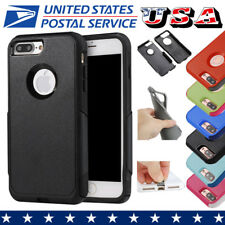 For Apple iPhone 7 7 Plus + Case Cover TPU+PC Shockproof Hard Protective Cover