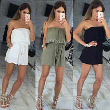 Women Summer Sleeveless Lace Belt Casual Evening Party Cocktail Short Mini Dress
