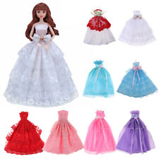 "Fashion Embroidery Lace Grown Dress for 1/6 Barbie Sisters 12"" Doll Party Outfit"