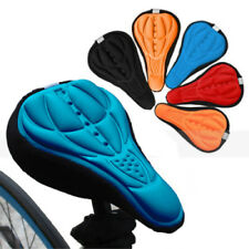 Bike Saddles Bike Seat Saddle Cover Cushion Recreational Cycling Silicone 3D 1PC
