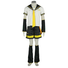 Vocaloid Kagamine Len Uniform Cosplay Costume Boys Full Suit Outfit XCOSER