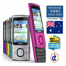 Nokia 6700 Slide 3G Video Calling 5MP Camera Unlocked Phone various colours