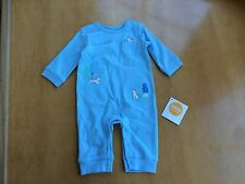 NWT Gymboree Baby Boy Newborn Essential Fox Romper 3-6 M